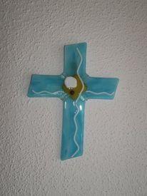 Fusing, Glaskreuz, Glas, Kreuz