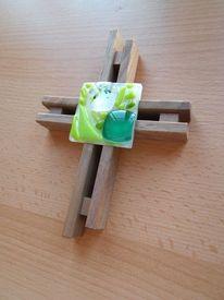 Fusing, Kreuz, Holz, Nussbaum