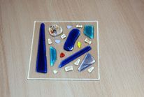 Glasobjekt, Fusing, Lichtplatte, Glas
