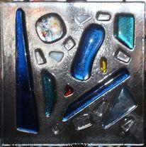 Fusingglas, Glasobjekt, Fusing, Lichtplatte