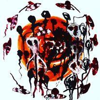 Outsider art, Artbrut, Kunst und psychiatrie, Malerei