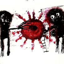 Kuckucksnest, Artbrut, Outsider art, Malerei
