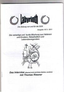 Labyrinth, Pflegen, Irre, Pinnwand