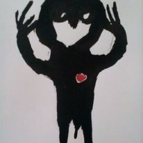 Menschen, Schmerz, Hände, Zeichnungen