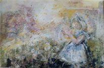 Zart, Pastellmalerei, Aquarellmalerei, Kind