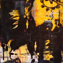 Schablone, Stencil, Film, Sage