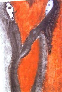 Malerei, Zwischenwelten, Wald