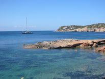 Urlaub, Bucht, Strand, Ibiza