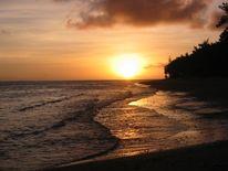 Strand, Sonnenuntergang, Bali, Meer
