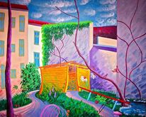 Malerei, Garten