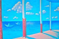 Meer, Malerei, Surreal
