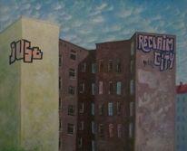 Haus, Berlin, Kreuzberg, Malerei