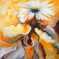 Weiß, Blüte, Blumen, Gelb