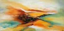Türkis, Terra, Landschaft, Vogel