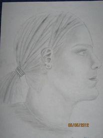 Portrait, Zeichnung, Portraitzeichnung, Malerei