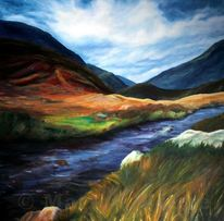 Wasser, Woken, Landschaft, Berge