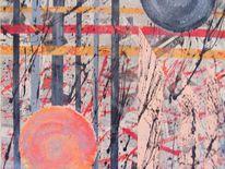 Schrift, Acrylmalerei, Grau, Wild