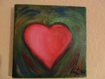 Malerei, Herz
