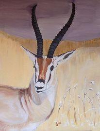 Serengeti, Gazelle, Malerei, 2012
