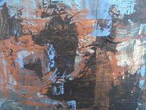 Malerei, Abstrakt, Maskerade