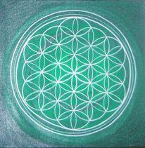 Lebensblume, Heilige geometrie, Energie, Blume des lebens