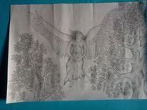 Baum, Zeichnung, Religion, Filigran