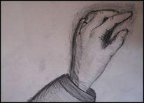 Bleistiftzeichnung, Skizze, Hand, Zeichnungen