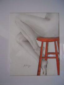 Tuschmalerei, Frau, Weiblich, Zeichnung