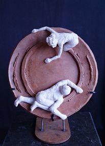 Skulptur, Heidelberg, Szene, Menschen
