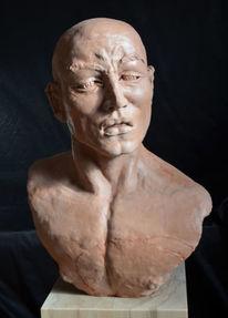 Kopf, Figurativ, Heidelberg, Mann skulptur