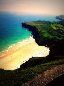 Ausblick, Sonne, Meer, Küste