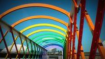 Formen, Regenbogen, Niemeyer, Natur