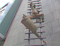 Moderne skulptur, 3d, Fotografie, Berlin