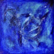 Struktur, Tiefe, Blau, Meer