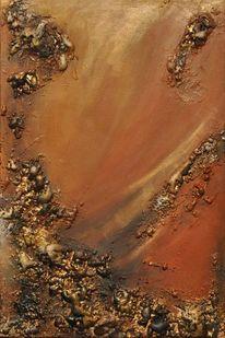 Erde, Stein, Krater, Steinbruch