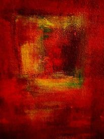 Variationen in rot, Hitze, Wärme, Pyrol