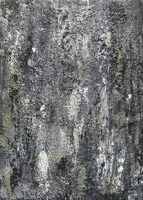 Grau, Stein, Felsen, Monochrom