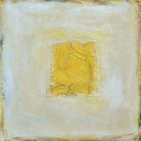 Triptychon, Metall, Farbfeldmalerei, Geometrie