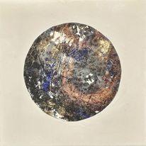 Universum, Kupfer, Mond, Krater
