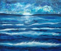 Stern, Meer, Welle, Landschaft
