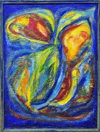 Expressionismus, Abschied, Blauer reiter, Struktur