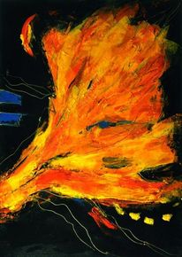 Expressionismus, Komplementär, Gewalt, Modern art