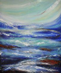 Blau, Licht, Abstrakt, Meer