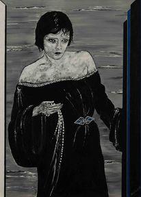 Frankreich, Art deco, Café, Malerei