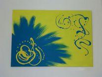 Kontrast, Blau, Gelb