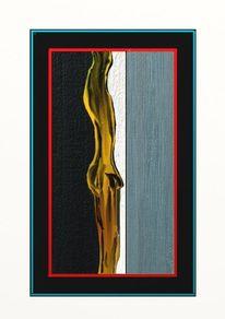 Giacometti, Akt, Junger mann, Digitale malerei