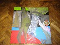 Tumult, Acrylmalerei, Malerei,