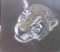 Pastellmalerei, Zeichnungen, Gepard