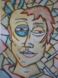 Bunt, Aquarellmalerei, Stimmung, Gefühl