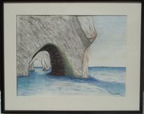 Felsen, Meer, Malerei